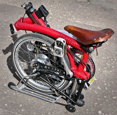 Thought it was gas powered at first, but this clump of steel is actually a bike.
