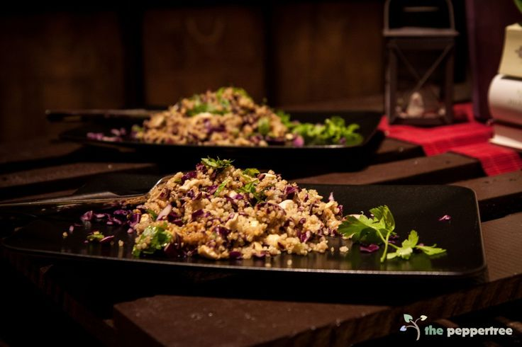 Rotkraut Quinoa