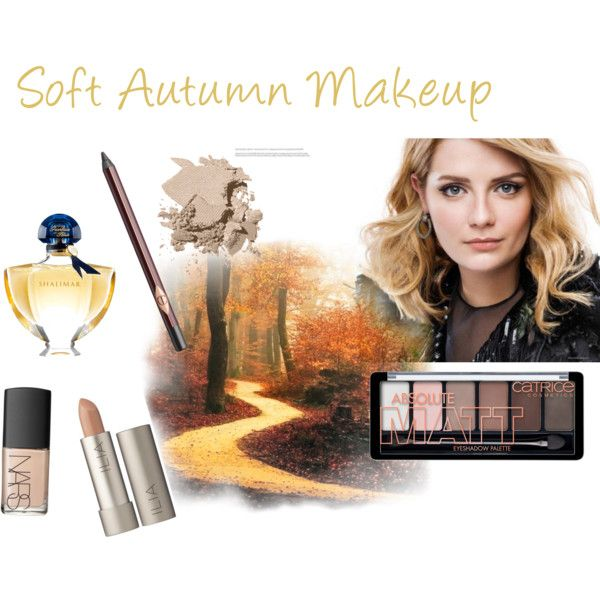 Soft Autumn Makeup by expressingyourtruth on Polyvore featuring beauty, Ilia, Bobbi Brown Cosmetics, NARS Cosmetics, Charlotte Tilbury, Guerlain and Mischa Barton Handbags