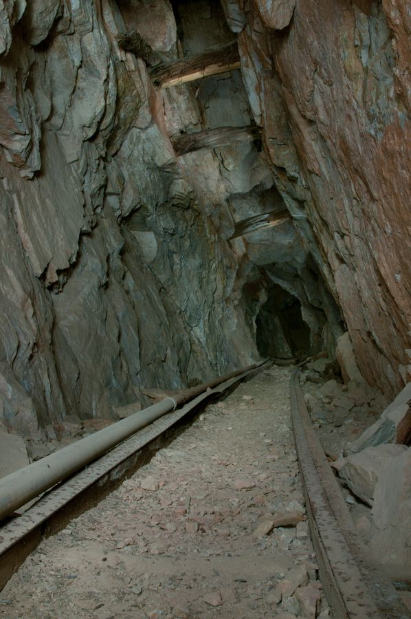 Abandoned Silver Mine