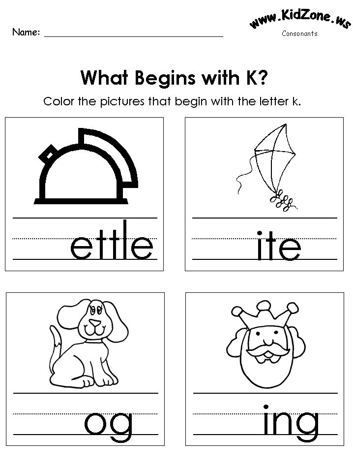 22 best consonanats worksheets images on Pinterest | Letter sounds ...