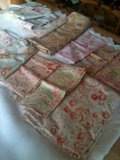 Homespun Stitchworks..... For the love of vintage: Pretty paisley's and embroidery threads!