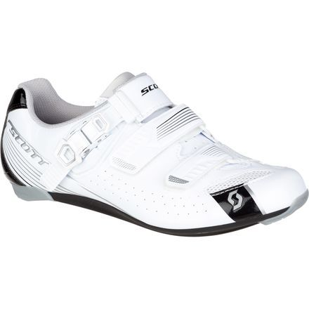 If you're looking to trade out the platforms and upgrade your road ride to clipless, trust the Scott Women's Road Pro Lady Shoe to help you make the transition cleanly. While the Road Pro Lady won't promise to stop you from tipping over in the grass a few times while you get the hang of things, it'll quickly illustrate just how fast you can ride when your shoes are working with you.