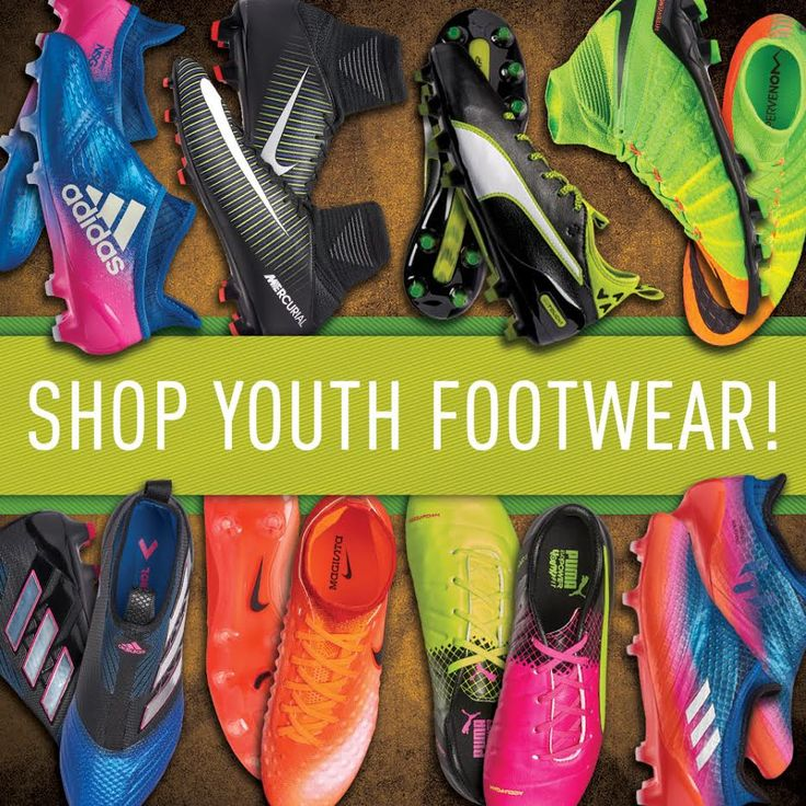 Big deals on youth soccer cleats at SoccerPro right now! Shop: http://www.soccerpro.com/Youth-Soccer-Cleats-c392/