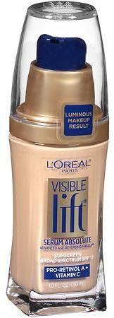 L'Oreal Visible Lift Serum Absolute Advanced Age-Reversing Makeup SPF 17