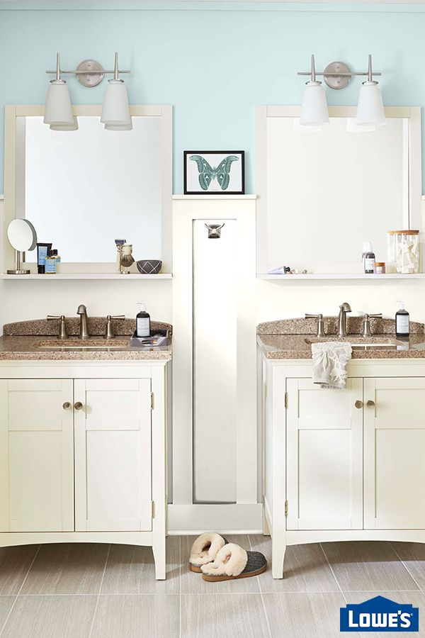 Let Lowe S Design And Installation Experts Help You Style Your Bathroom From Floor To Ceiling
