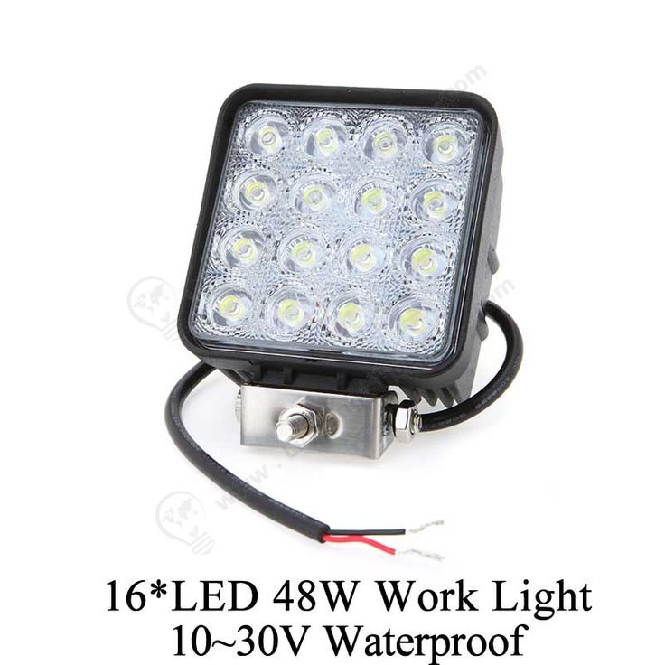 High brightness #LED #Car #Light, 48W, #Waterproof, 10~30V, Jeep SUV ATV, 16*LED Off-road Work Light.  http://www.lightingshopping.com/16-led-48w-work-light-aluminium-alloy-10-30v-waterproof-for-jeep-suv-atv-off-road-truck.html