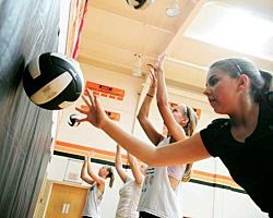 Volleyball Workout and Drills You Can Do at Home
