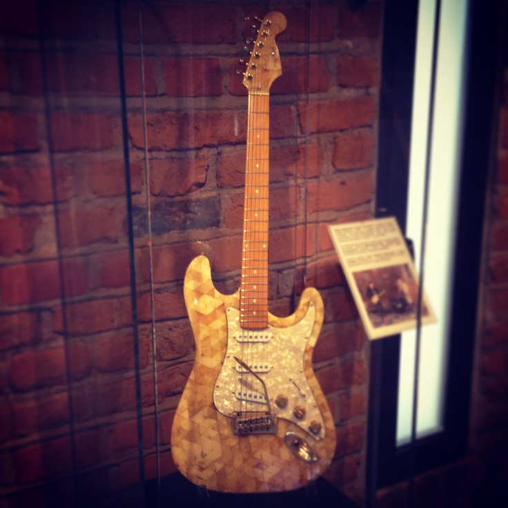 Amber Stratocaster at the Amber Museum, Gdansk, Poland