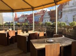 T-Anker - Rooftop bar on top of Kotva, Prague 1