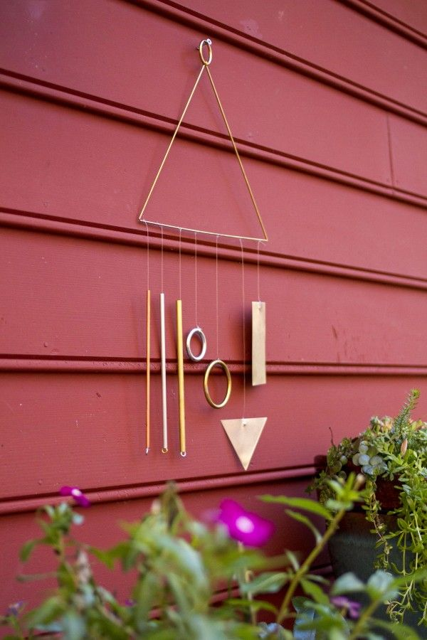 Modern Wind Chime | Dream Green DIY @ehow