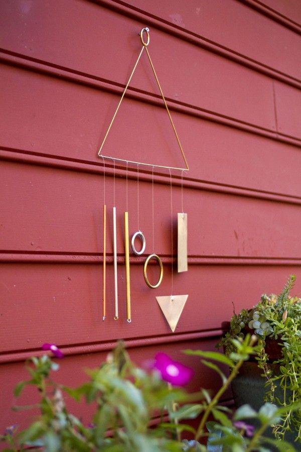 Modern Wind Chime | Dream Green DIY @ehow