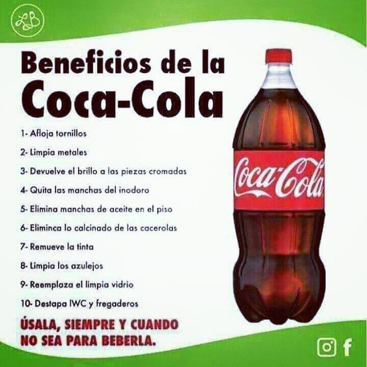 Coca Cola Para El Cabello Para Que Sirve 345 Me Gusta 15 Comentarios Noelia Conenedenutricion En