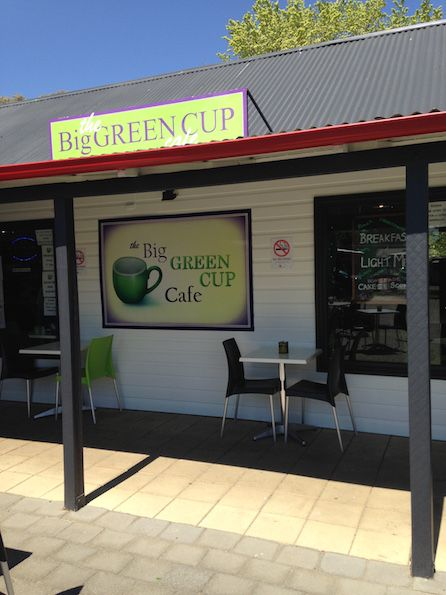 The Big Green Cup Cafe @Bungendore NSW