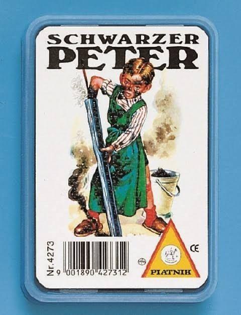 Schwarzer Peter Kartenspiel