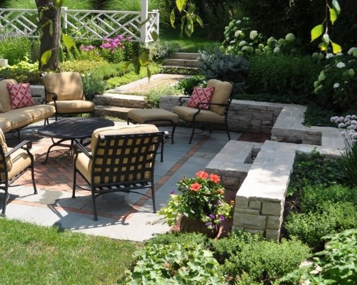Best 25 sunken patio ideas on pinterest sunken garden for Pave decoration exterieur