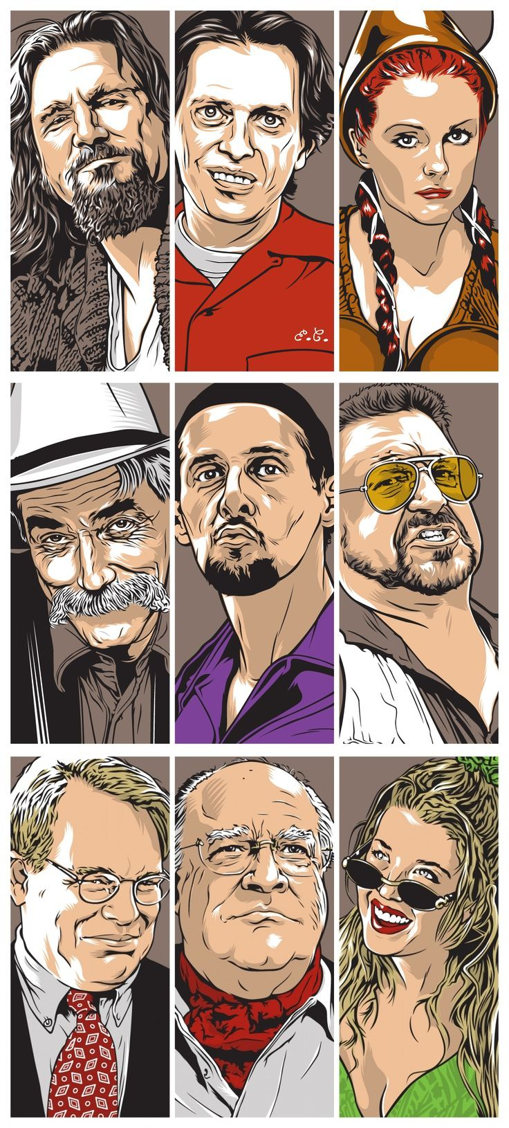 The Lebowski Bunch