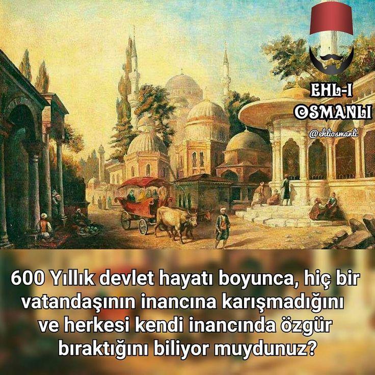 Osmanlı inanç özgürlüğü :