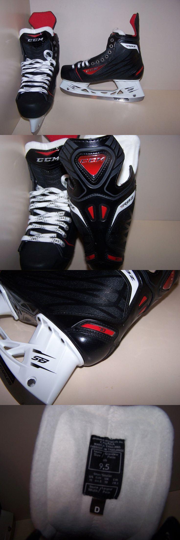 Ice Hockey-Adult 20858: New Ccm Rbz 70 Hockey Skates, Senior 9.5 D -> BUY IT NOW ONLY: $125 on eBay!