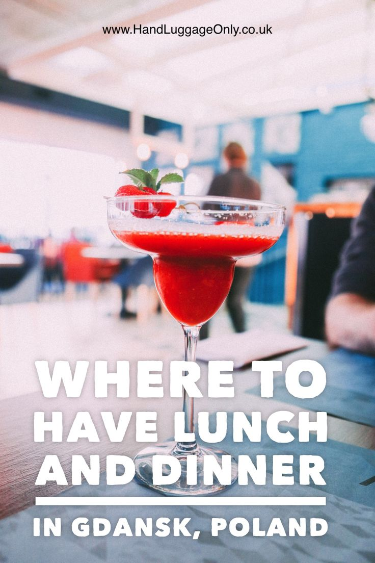 My Recommendation For Lunch (And Dinner) In Gdansk, Poland - Hand Luggage Only - Travel, Food & Home Blog
