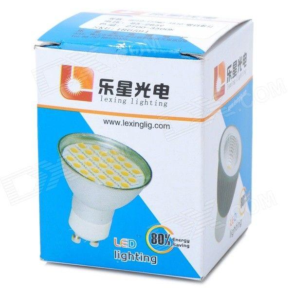 LeXing GU10 7.5W SMD LED Spotlight Warm White 3500K 720lm (AC 85~265V)