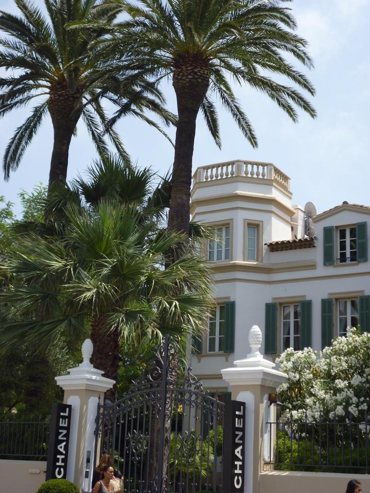 France, Var, Saint Tropez , Villa Chanel