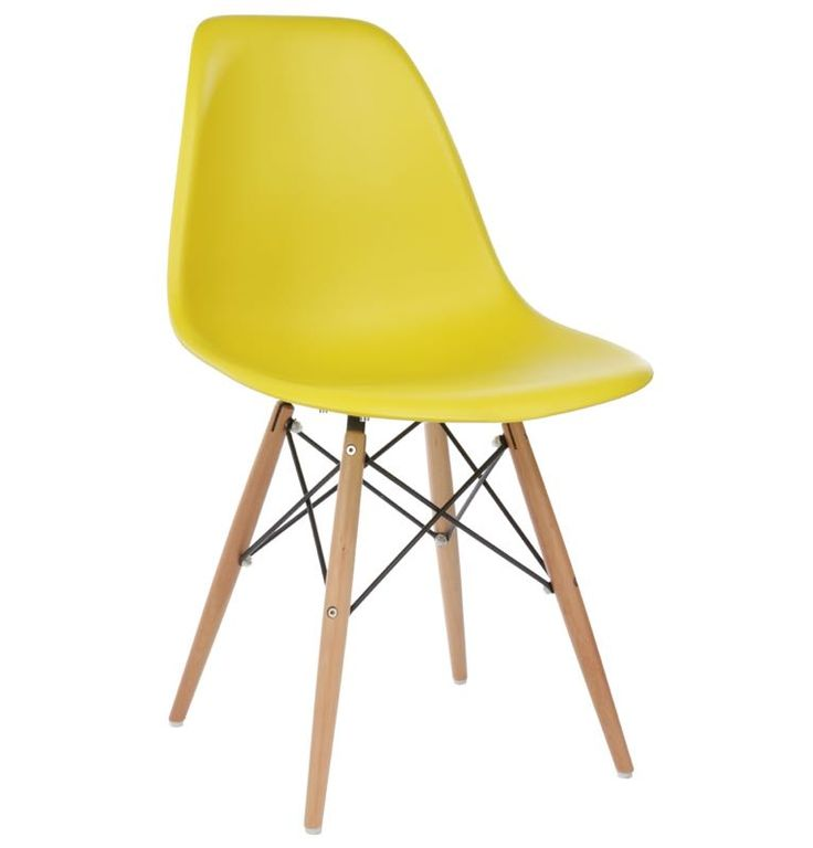 Eames dsw chair olive with beech legs solid wood dining