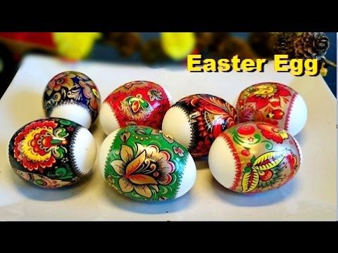How to Decorate Easter Eggs (Cara Menghias Telur Paskah) - YouTube