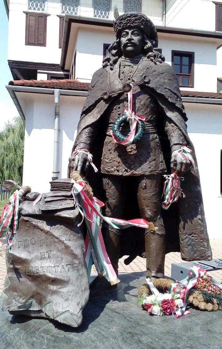 Statue of Francis II. Rákocziin Košice, Slovakia