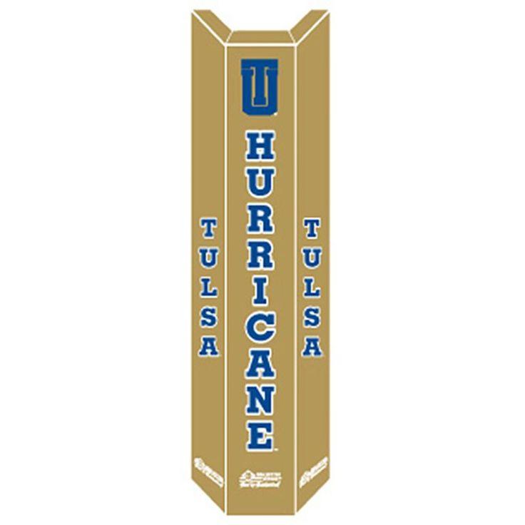 Goalsetter Tulsa Golden Hurricane Basketball Pole Pad, Gold