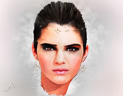 "Check out new work on my @Behance portfolio: ""Kendall Jenner"" http://be.net/gallery/41490703/Kendall-Jenner"
