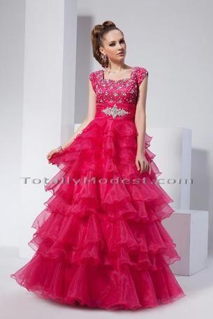 Abby-Modest prom dress