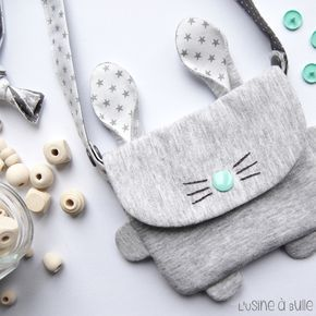 L'usine à bulle: [DIY] Mini sac lapin                                                                                                                                                      Plus