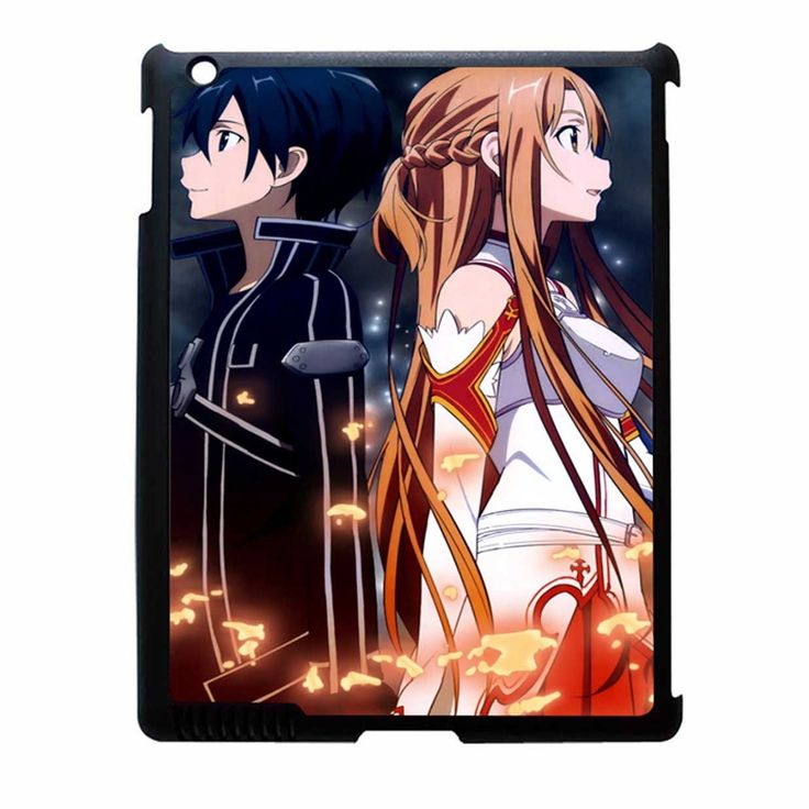 Sword Art Online Kirito iPad 4 Case