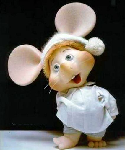 Topo Gigio was a regular on the Ed Sullivan Show. (Mom and Dad let me stay up long enough to see him!!)