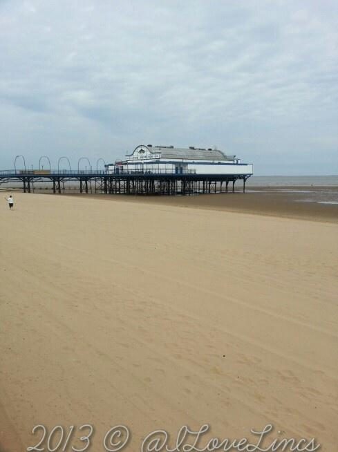 Cleethorpes in the sun today, a blue flag beach