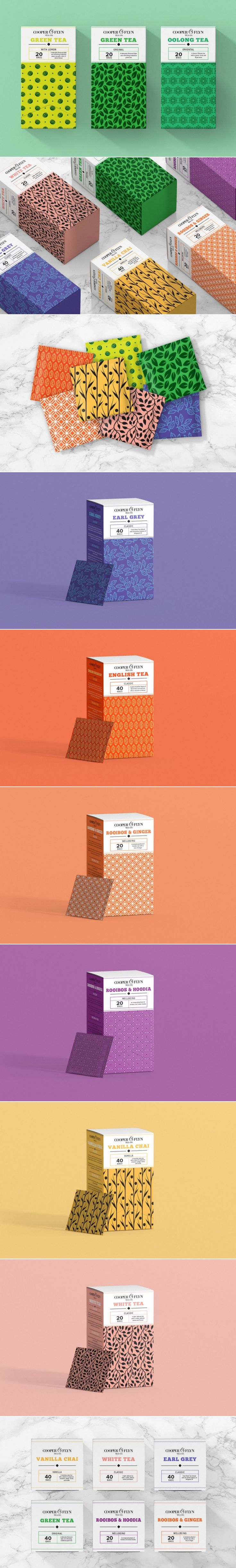 This South African Tea Brand is Bringing On The Awesome Patterns — The Dieline | Packaging & Branding Design & Innovation News