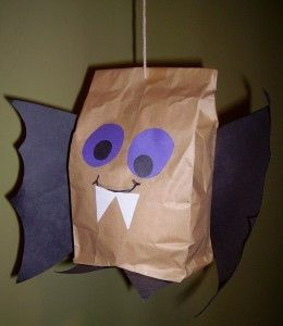 Your little ones can make your haunting Halloween even more spook-tacular with these Batty Brown Paper Bags. Kids' Halloween crafts are great for getting your kids into the holiday spirit, especially paper crafts that are super easy for them to make.