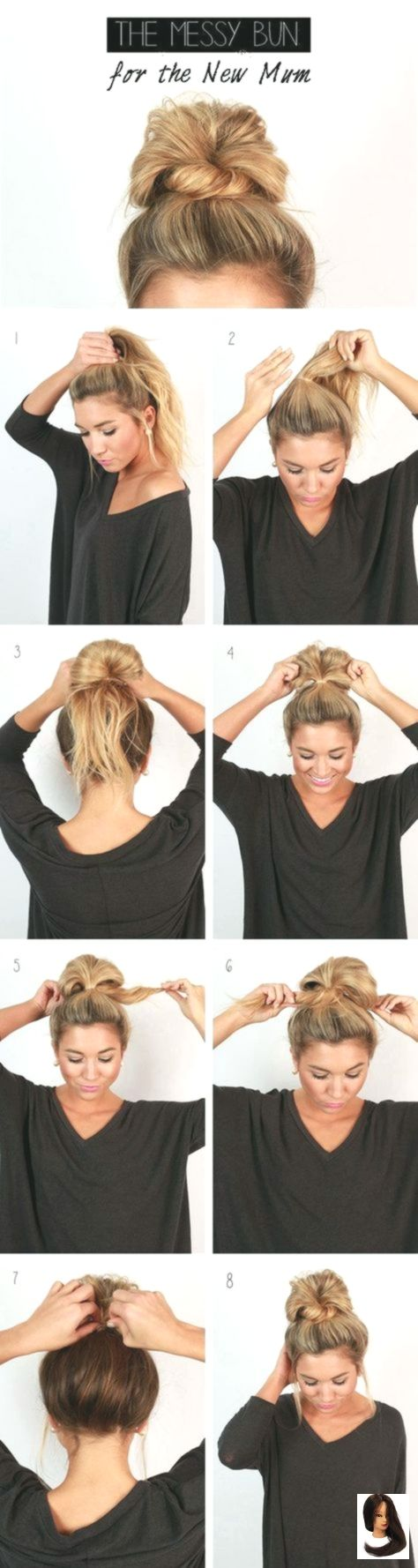 10 superlight hairstyles to be sweet at school without effort