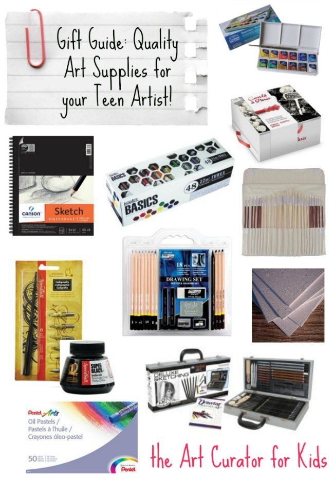 The Very Best Gifts For Teenage Artists