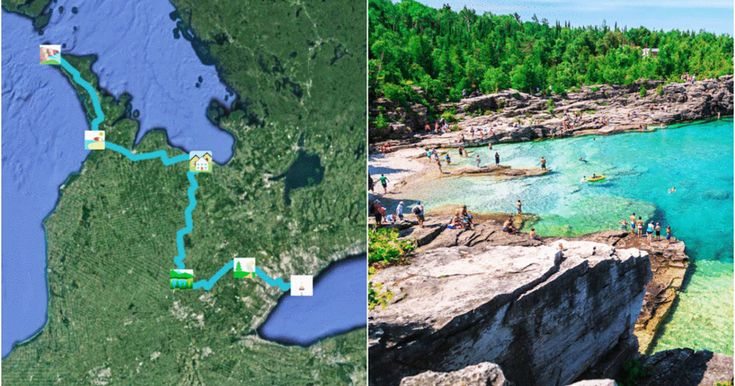 This Is The Coolest Road Trip You'll Ever Go On From Toronto To Tobermory featured image