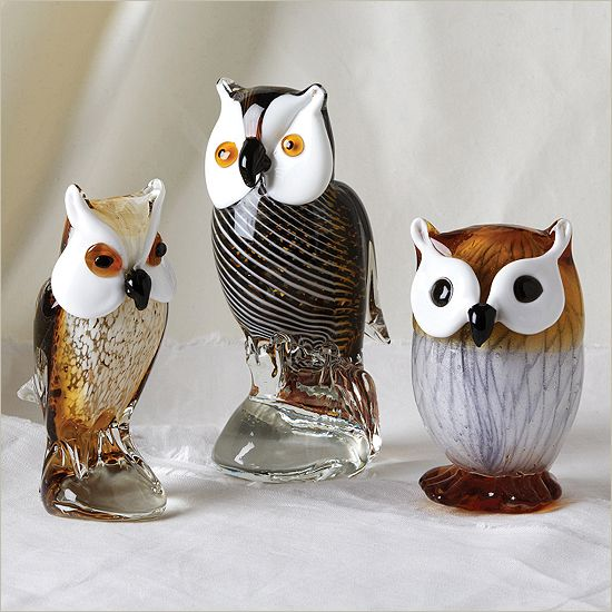 Best images about glass owls on pinterest metals owl