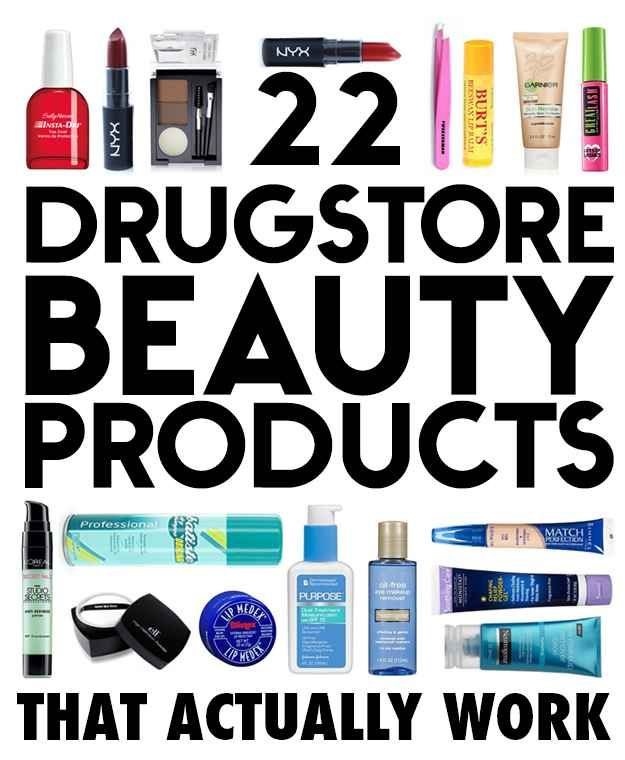 22 drugstore makeup products