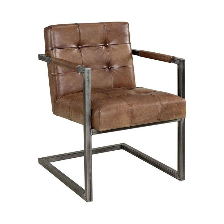 Nydelige stilrene stoler i skinn. Mål: Bredde 60 cm , Dybde 74 cm og høyde 84 cm. Sittehøyde 49 cm. For mer info: www.krogh-design.no