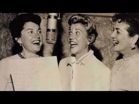 """1940 """"Ferryboat Serenade"""" by The Andrews Sisters"""