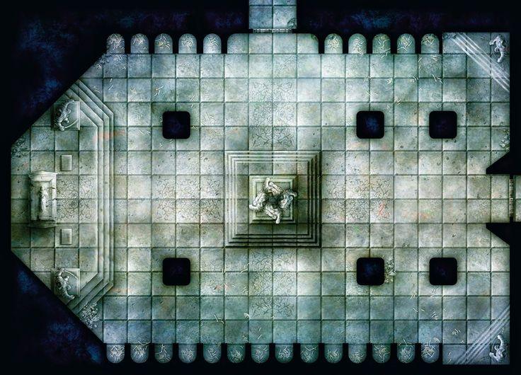 Free Dungeon Tiles To Print Cartes De Donjon Carte