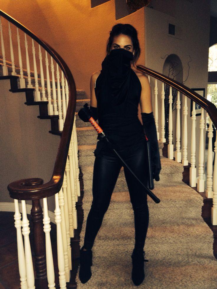 #ninja #halloween #diy #womens