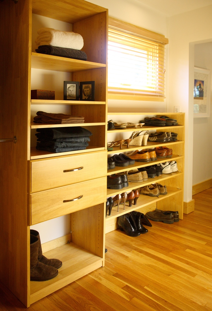 Walk In Closet Organizers Maple Spice By Www.solidwoodclosets.com