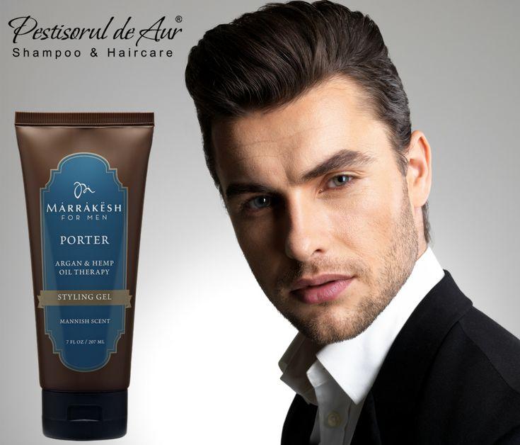 Fixare durabilă pe tot parcursul zilei cu Marrakesh Men's Porter Styling Gel! Formula inovatoare fără alcool, nu întăreşte şi nu încarcă părul. Cumpără de aici: https://www.pestisoruldeaur.com/STYLING/Gel-de-par-pentru-barbati-Marrakesh-Mens-Porter-Styling-207-ml