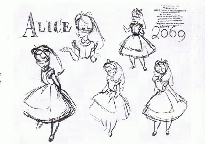 Disney Concept Art Alice